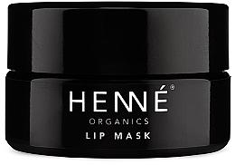 Perfumería y cosmética Mascarilla labial rejuvenecedora con aceite de rosa canina - Henne Organics Lip Mask