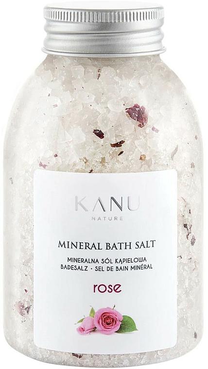 Sales de baño minerales con aroma a rosa - Kanu Nature Rose Mineral Bath Salt