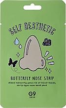 Perfumería y cosmética Parches para nariz con extracto de hamamelis y aloe - G9Skin Self Aesthetic Butterfly Nose Strip