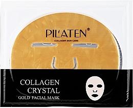 Perfumería y cosmética Mascarilla facial de tejido con colágeno - Pilaten Collagen Crystal Gold Facial Mask