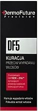Perfumería y cosmética Tratamiento para la prevención de la caída del cabello - DermoFuture DF5 Course Against Hair Loss
