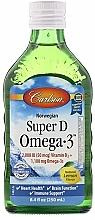 Perfumería y cosmética Complemento alimenticio líquido de vitamina D y Omega 3 - Carlson Labs Norwegian Super D Omega-3