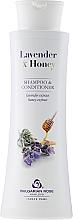 Perfumería y cosmética Champú acondicionador con extracto de lavanda y miel - Bulgarian Rose Lavender & Honey