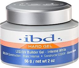 Perfumería y cosmética Gel contructor de uñas, blanco - IBD LED/UV Builder Intense White Gel