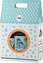 """Perfumería y cosmética Set """"galletas de lima"""" - Yope Zimowe Ciasteczka (gel de ducha/400ml + jabón líquido/500ml + bálsamo para manos y cuerpo/300ml)"""