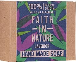 Perfumería y cosmética Jabón artesanal con aceite de lavanda, 100% natural - Faith In Nature Lavender Soap