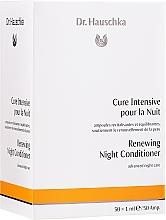 Perfumería y cosmética Acondicionador facial de noche con extracto de hamamelis y malvavisco en ampollas - Dr. Hauschka Renewing Night Conditioner