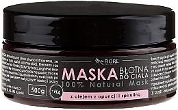 Perfumería y cosmética Mascarilla corporal de barro con espirulina y aceite de nopal - E-Fiore Body Mask With Spirulina, Opuntia Oil And HA Acid
