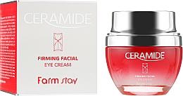 Perfumería y cosmética Crema contorno de ojos reafirmante con extracto de anís - FarmStay Ceramide Firming Facial Eye Cream