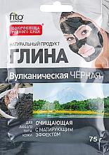 Perfumería y cosmética Arcilla negra volcánica para la cara y el cuerpo - Fito Cosmetic