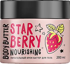Perfumería y cosmética Crema manteca corporal nutritiva, Fresa - MonoLove Bio Star Berry Body Butter