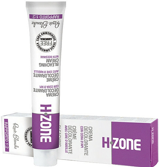 Crema decolorante para cabello con cera de abejas - H.Zone Bleaching Cream — imagen N1