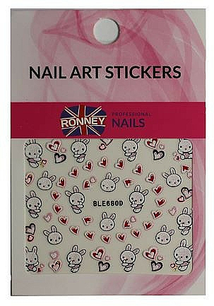 Pegatinas para uñas - Ronney Professional Nail Art Stickers