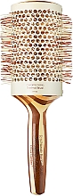 Perfumería y cosmética Cepillo térmico de pelo cerámico con mango de bambú, d.63 - Olivia Garden Healthy Hair Eco-Friendly Bamboo Brush