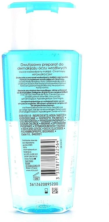Desmaquillante hipoalergénico para pieles sensibles - Vichy Purete Thermale Struccante Waterproof Occhi Sensibili — imagen N5