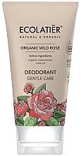 Perfumería y cosmética Desodorante en crema con aceite esencial de rosa - Ecolatier Organic Wild Rose Deodorant