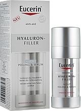 Perfumería y cosmética Sérum peeling facial de noche con relleno hialurónico - Eucerin Hyaluron-Filler Night Peeling & Serum