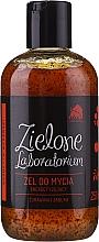 Perfumería y cosmética Gel de ducha con partículas de arándano y jugo de manzana - Zielone Laboratorium