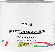Perfumería y cosmética Bálsamo corporal con ruibarbo y menta - Tizmi Total Body Balm Rhubarb & Mint