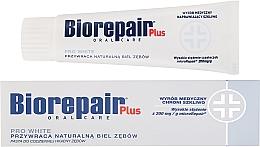 Perfumería y cosmética Pasta dental blanqueadora con mentol - BioRepair Plus PRO White
