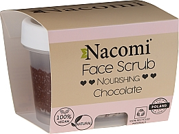Perfumería y cosmética Exfoliante facial de chocolate vegano y natural - Nacomi Moisturizing Face&Lip Scrub Chocolate