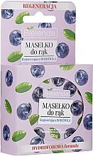 Perfumería y cosmética Manteca para manos con extracto de arándano - Bielenda Hand Butter Regenerating Blueberry