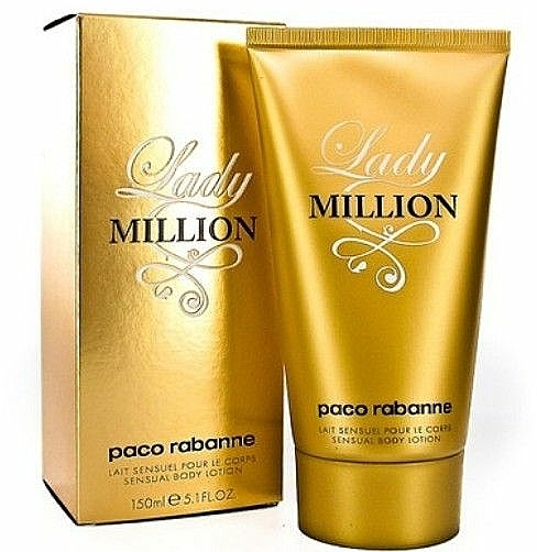 Paco Rabanne Lady Million - Loción corporal perfumada — imagen N2