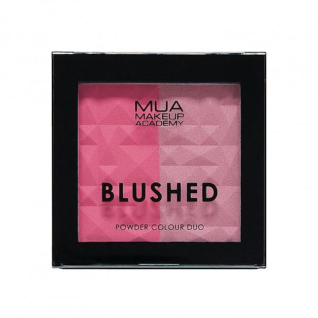 Colorete facial en polvo - MUA Blushed Powder Colour Duo