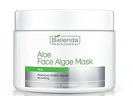 Perfumería y cosmética Mascarilla facial con aloe vera - Bielenda Professional Face Algae Mask with Aloe