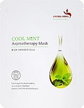 Perfumería y cosmética Mascarilla facial de tejido aromaterapia con menta fresca - Aroma Yong Aromatherapy Mask Cool Mint