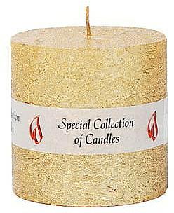 Vela natural decorativa, 7,5cm - Ringa Golden Glow Candle