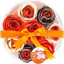Perfumería y cosmética Confeti de baño con aroma a naranja, 8uds. - Spa Moments Bath Confetti Orange