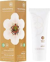 Perfumería y cosmética Gel de limpieza facial con extracto de pomelo y aceite de aguacate - Natural Being Manuka Cleanser