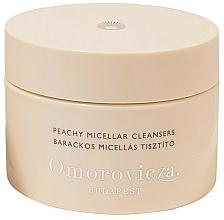 Perfumería y cosmética Discos desmaquillantes con aroma a melocotón, pachulí, agua de flor de rosa - Omorovicza Peachy Micellar Cleansers
