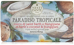 Perfumería y cosmética Jabón natural con coco & frangipani - Nesti Dante Paradiso Tropicale St. Barths Coconut & Frangipane Soap