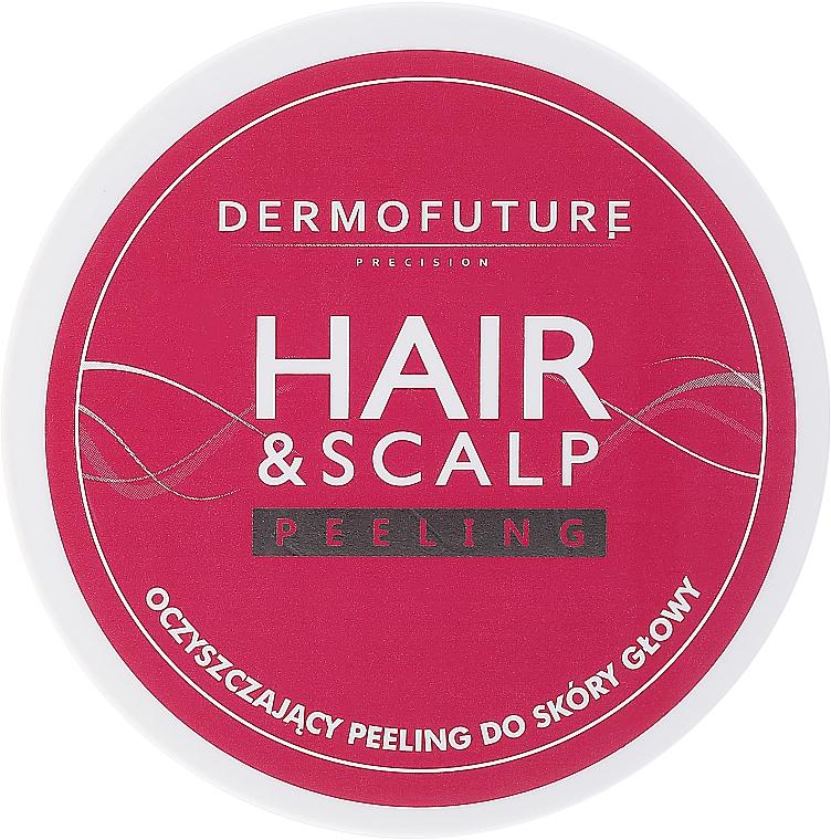 Exfoliante para cabello y cuero cabelludo con albaricoque triturado - DermoFuture Hair&Scalp Peeling