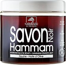 Perfumería y cosmética Jabón corporal negro con aceite de oliva ecológico - Naturado Black Soap Hammam With Olive Oil