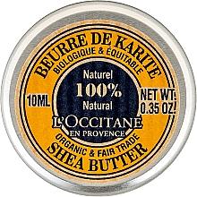 Perfumería y cosmética Manteca de karité 100% natural - L'occitane Organic Pure Shea Butter (mini)