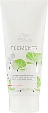 Perfumería y cosmética Acondicionador de cabello con extracto de fresno sin parabenos - Wella Professionals Elements Lightweight Renewing Conditioner