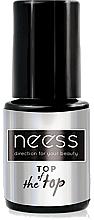 Perfumería y cosmética Top coat gel, UV/LED - Neess Top Of The Top For Hybrid Varnish