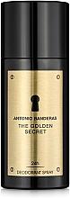Perfumería y cosmética Antonio Banderas The Golden Secret - Desodorante spray
