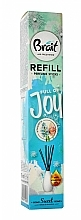 Perfumería y cosmética Recarga para difusor de aroma, jacinto (varitas+aceite de fragancia) - Brait Home Sweet Home Refreshing Sticks Full of Joy