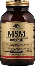 Perfumería y cosmética Complemento alimenticio en cápsulas de Metilsulfonilmetano, 1000 mg, 120 cáp. - Solgar MCM (Methylsulfonylmethane)