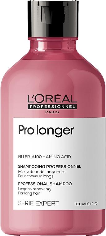 Champú renovador de cabellos largos con aminoácidos y filler A-100 - L'Oreal Professionnel Pro Longer Lengths Renewing Shampoo