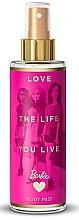 Perfumería y cosmética Spray coproral con aroma frutal - Bi-Es Barbie Love The Life Body Mist