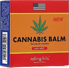 Perfumería y cosmética Bálsamo corporal con aceite de semilla de cañamo - Rolling Hills Organic Cannabis Oil