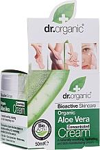 Perfumería y cosmética Crema concentrado facial con aloe vera orgánico - Dr.Organic Bioactive Skincare Aloe Vera Concentrated Cream