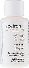 Perfumería y cosmética Aceite para manos y uñas natural de jojoba y árbol de té - Apeiron Nail Bed Oil