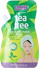 Perfumería y cosmética Mascarilla facial purificante con árbol de té - Beauty Formulas Tea Tree Peel-Off Mask