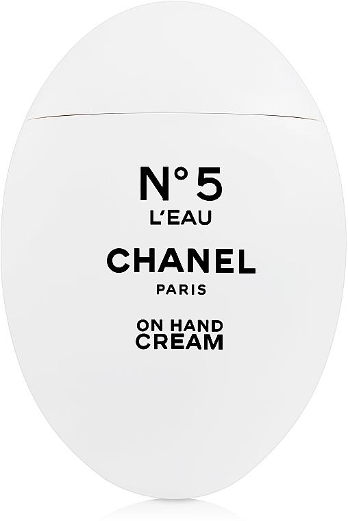 Chanel N5 L'Eau - Crema de manos perfumada hidratante con aroma de limón, mandarina y naranja
